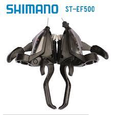 <b>Shimano ST-EF51 GEAR</b> Shifter/Brake Lever 3 x 7,8,21,24 Speed ...