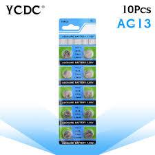 <b>YCDC</b> bateria sr44 10Pcs/1card AG13 Button Cell Batteries ...
