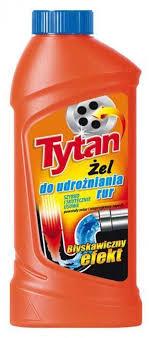 <b>Гель для чистки</b> канализационных <b>труб</b> Tytan, 500 мл — купить в ...