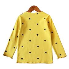 Children'S Clothing Bottoming Shirt <b>Autumn New Korean</b> Girls ...
