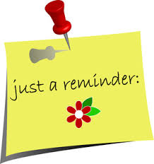 Image result for reminders clip art