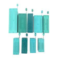 <b>2pcs/lot IC lock</b> seat zif socket Test Universal zif sockets 14Pin/16Pin ...