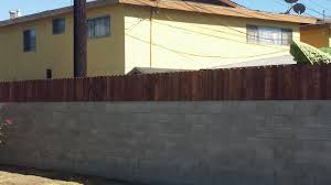 Small Picture Build a privacy fence on top of a block wall YouTube