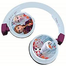LEXIBOOK HPBT010FZ Frozen 2-in-1 Bluetooth <b>Headphones</b> ...