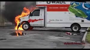 Uhaul Truck S U Haul Truck Fire 45 South Houston Hfd Youtube