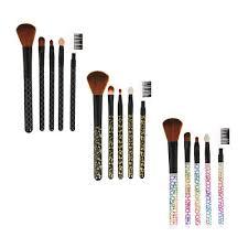 ЮниLook <b>Набор кистей для</b> макияжа 5шт, пластик, синтетич ...