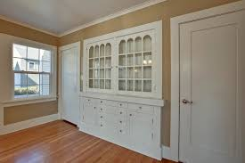 Built In Cabinets Dining Room Rented Micheltorena St Silver Lake