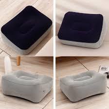 <b>Portable</b> Relaxing Feet Tool Inflatable <b>Foot Rest</b> Pillow Cushion ...