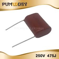 <b>10PCS 250V475J Pitch 25MM</b> 250V 4.7UF 475 4700PF CBB ...