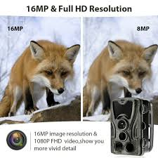 <b>HC801A</b> Hunting Trail Camera 16MP 1080P <b>HD</b> Video Night Vision ...