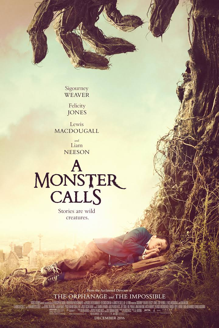 Download A Monster Calls 2016 English (Eng Subs) x264 WEB-DL 480p  | 720p