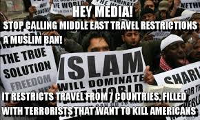 Image result for the 7 countries banned from visa
