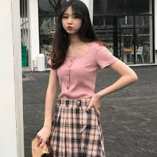Women's Sexy <b>Square</b> Collar Solid Slim Short sleeved <b>T-shirt</b> ...
