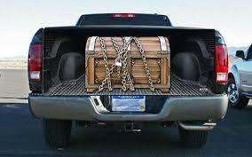 <b>Wooden Treasure Chest</b> Tailgate Wrap Vinyl Graphic Decal Sticker ...