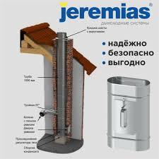 <b>Дымоходы</b> Jeremias – надёжно, безопасно, выгодно