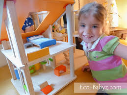Eco Babyz  Plan Toys Chalet Dollhouse ReviewWhen the furniture arrived