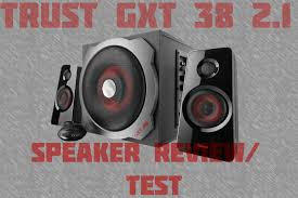 <b>Trust GXT 38</b> Gaming Speaker Sound Test/Review - YouTube