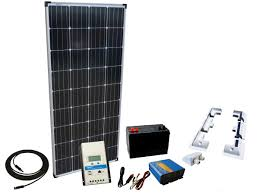 150W - 12V Off Grid <b>Solar Kit</b> & <b>300W</b> Power Inverter - Sunshine <b>Solar</b>
