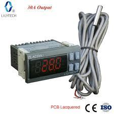 <b>ZL</b>-6210A+, 30A Output, Digital Temperature Controller, Thermostat ...
