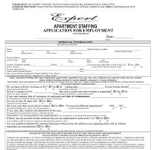 expert apartment staffing pdf application for print