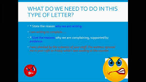 how to write a letter of complaint how to write a letter of complaint