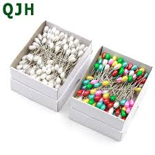 Wholesale 144pcs/set colorful&white positioning needles <b>DIY</b> ...