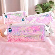 Красивый розовый ясно Сакура мягкий <b>пенал</b> школьные ...