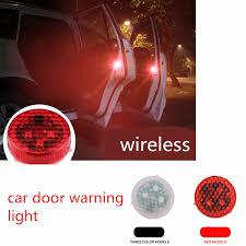 <b>2Pcs LED</b> Car <b>Door</b> Warning Light Safety Magnet Anti-crash ...