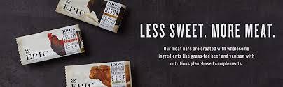 EPIC Venison Sea Salt & Pepper Bars 12 count - Amazon.com