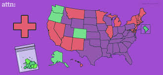 Image result for images of states that have legalized marijuana