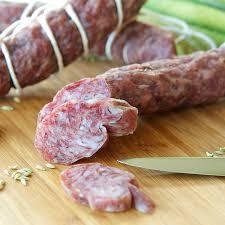 home made salami