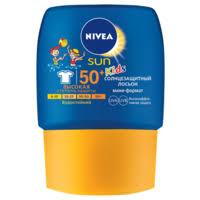 <b>Nivea Sun</b> Kids детский солнцезащитный лосьон SPF 50 ...