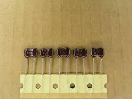 S01029-154 (5 <b>Pc Lot</b>) <b>170</b> pf 500 volt 500V +- 2 % silver mica ...