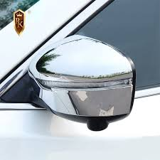 <b>2pcs</b> ABS Chrome Side Door Rearview <b>Mirror Cover</b> Trim For ...