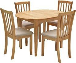 4 chair kitchen table: extending dining table and  chairs