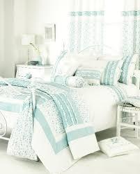 shabby chic blue white embroidered twin duvet set blue shabby chic bedding