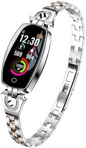 <b>H8</b> Fashion Luxury Women Bracelet <b>Smart Watch</b> with Heart Rate ...
