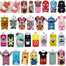<b>Soft Silicone</b> Cute New <b>3d</b> Cartoons Shockproof Back Cover Case ...