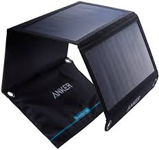<b>Solar Panel</b>, Anker 21W 2-Port USB Portable <b>Solar Charger</b> with ...