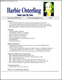 flight attendant resume sample   sample templatesflight attendant resume sample