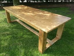 7ft dining table: reclaimed pine refectory style table ft quot x ft in home furniture amp diy