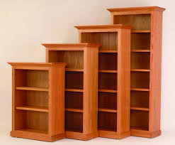 solid wood bookcases brown solid wood furniture