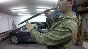 Ремонт кузова Toyota Corolla 3. Как снять наружный <b>молдинг</b> ...