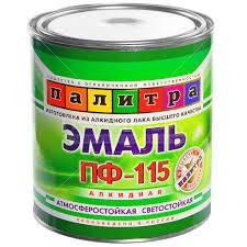 <b>Эмаль ПФ</b>-<b>115</b> Палитра <b>коричневая</b>, 2.7 кг в Воронеже: отзывы ...