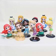 Snow White Little <b>Princess</b> Mermaid <b>Alice Cake Toppers</b> Girls ...