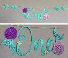 9pcs <b>Oceanic Mermaid Birthday Party</b> Decorations Set Under the ...