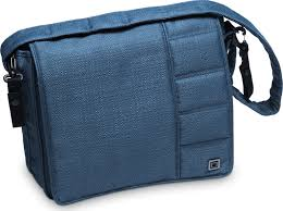 <b>Сумка</b> на <b>коляску Moon</b> Messenger <b>Bag</b> Blue Structure (003) 2019 ...