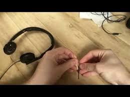 <b>Кабель для наушников</b> Замена <b>кабеля</b> на <b>Sennheiser</b> PX 100-ll ...
