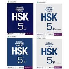 <b>4Pcs</b>/<b>Lot Chinese</b> English exercise book HSK students workbook ...