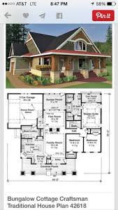 Vintage house plan that can easily be conformed to our modern day    Vintage house plan that can easily be conformed to our modern day life style  I    m in love   the exterior    Floor plans   Pinterest   Bungalow House